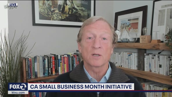 Businessman and former presidential candidate Tom Steyer appears on The Nine to discuss small business initiative