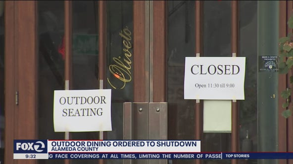 Alameda County Supervisors never got State approval, now say outdoor dining must end
