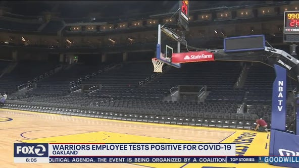 Warriors training center closed after employee tests positive for coronavirus