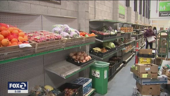Bay Area food banks are seeing an unprecedented need