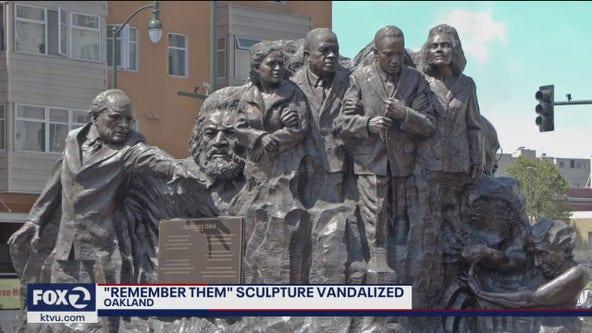 """Remember Them"" monument vandalized"