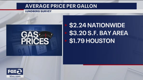Gasoline prices up 2 cents in last two weeks