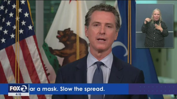 Gov. Newsom talks hospital capacity, safely reopening schools as California coronavirus cases rise