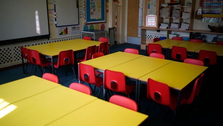 06f79d8f-UK Schools Remain Open To Support Children Of Key Workers During Coronavirus Lockdown