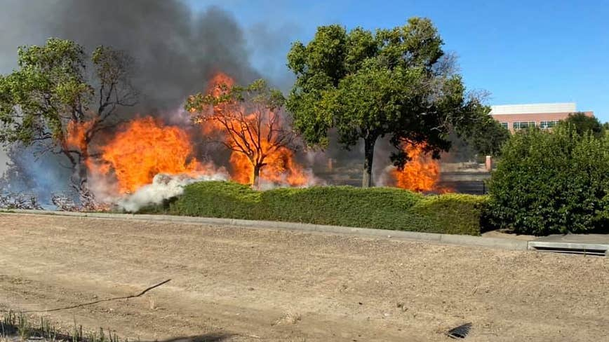 Investigation underway following six vegetation fires along Vacaville freeway