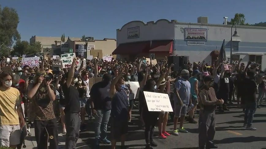 Peaceful Black Lives Matter rally and march held in Martinez