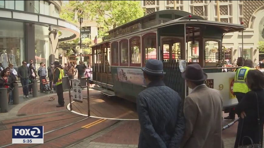 San Francisco's cable cars may not return until there's a COVID-19 vaccine