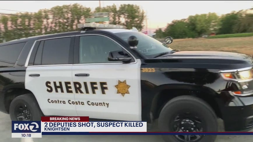 2 deputies shot and injured, suspect killed following standoff in Contra Costa County