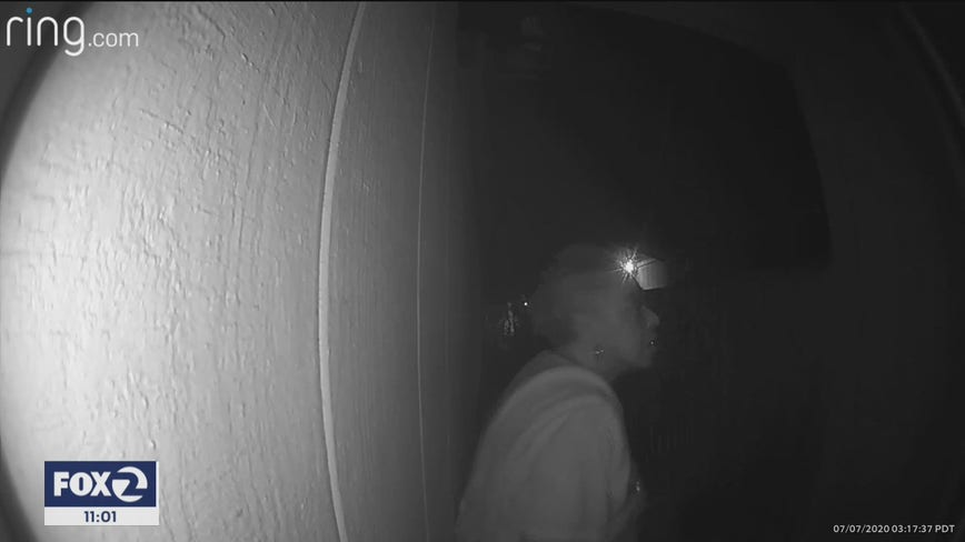 Missing Hayward woman may have been spotted on doorbell surveillance video
