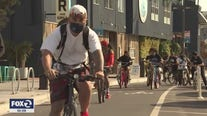 San Francisco man leads bike rides while also supporting small businesses