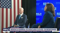 Biden and Harris to talk about COVID response