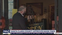 Santa Clara County approves mask fines