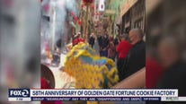 Celebration held for 58th anniversary of Golden Gate Fortune Cookie Factory in Chinatown