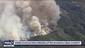 More evacuation orders lifted in Santa Cruz County