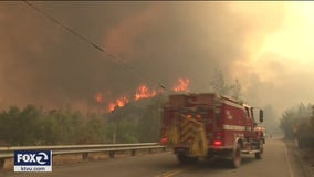 LNU Lightning Complex Fire in Napa, Solano and Sonoma counties triples to 124,100 acres
