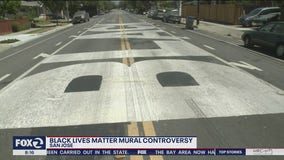 San Jose leaders in a quandary about a Black Lives Matter street mural