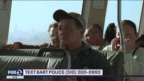 BART police announce text message service