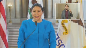 San Francisco Mayor London Breed holds an update on COVID-19