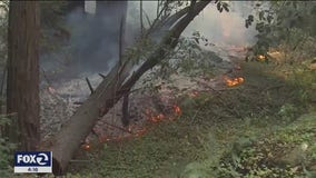 Setback battling CZU Lightning Fire as flames moved underground