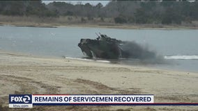Remains of servicemen recovered