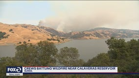 Group of vegetation fires south of Sunol prompts evacuation orders