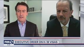 Executive order on H-1B visas