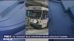 FDNY: 16 injured after NJ Transit bus crashes near Port Authority