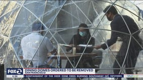 High-end dining domes ordered to be removed in San Francisco