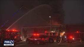 Hayward: Fire sweeps through building with four local businesses