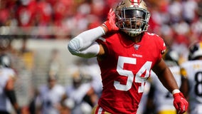 49ers place star linebacker Fred Warner on COVID-19 list