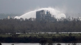 Key air monitors offline after Laura hits Louisiana gas hub