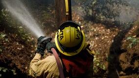 National Guard arrives to help firefighters battle CZU Lightning Complex Fire