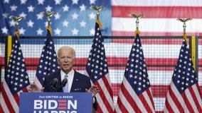 Joe Biden hits campaign trail, blames Trump for inciting unrest