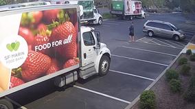 Man arrested on suspicion of vandalizing cars at San Rafael food bank