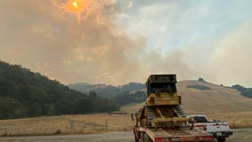 Marsh fire near Sunol scorches more than 1,700 acres