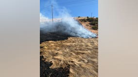 Shoreline Fire in Contra Costa County fully contained, but suspicious