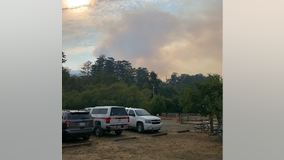 Fire officials have 'assumed command' of Woodward Fire at Point Reyes National Seashore