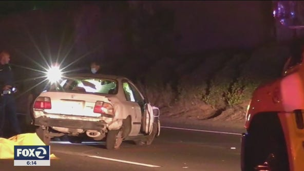 Young woman killed; 3 stolen cars abandoned at site of the deadly San Jose crash