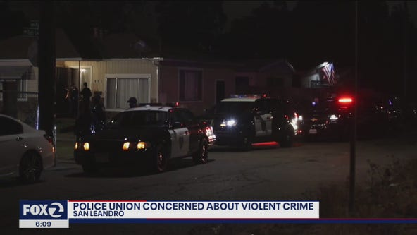 San Leandro police union concerned about increase in violent crimes