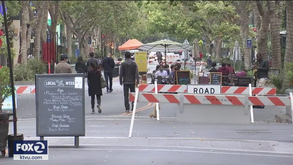 Some business owners say Palo Alto's street closures are unfair