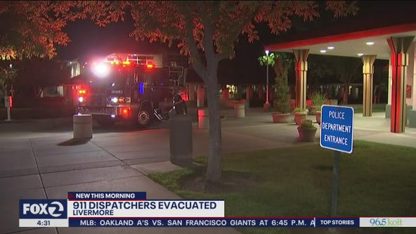 Livermore 911 dispatch center evacuated due to mystery odor