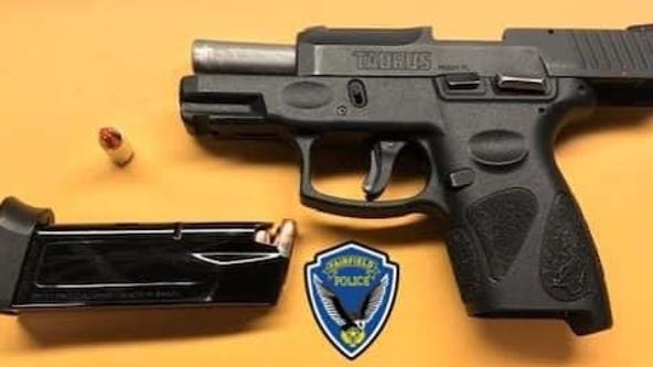 Fairfield police arrest man allegedly carrying handgun into grocery store