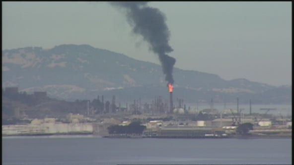 Overnight flaring at Chevron Richmond refinery under investigation