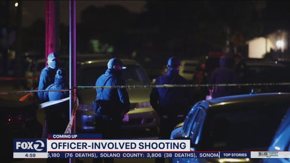 San Leandro police officer fatally shoots suspect who allegedly stole car, armed with assault rifle