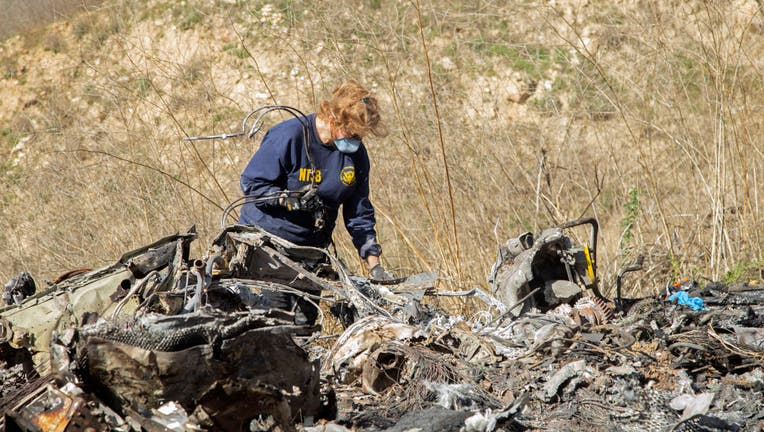 NTSB Investigators Continue To Work On Site Of Kobe Bryant's Helicopter Crash
