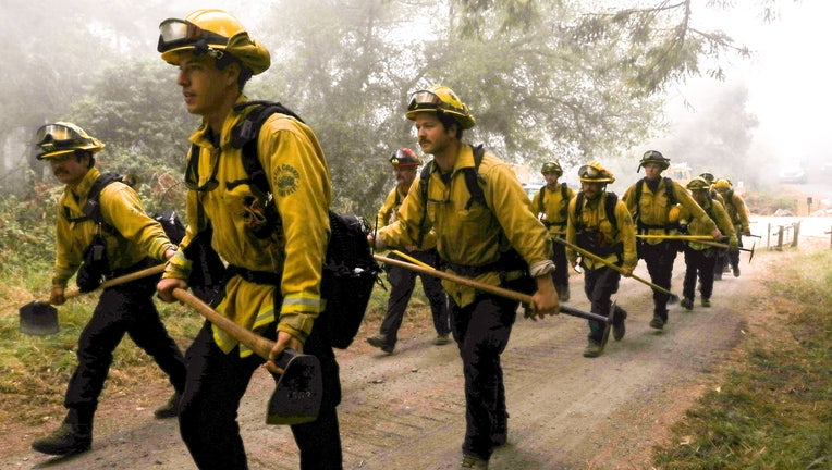 Marin County firefighters.