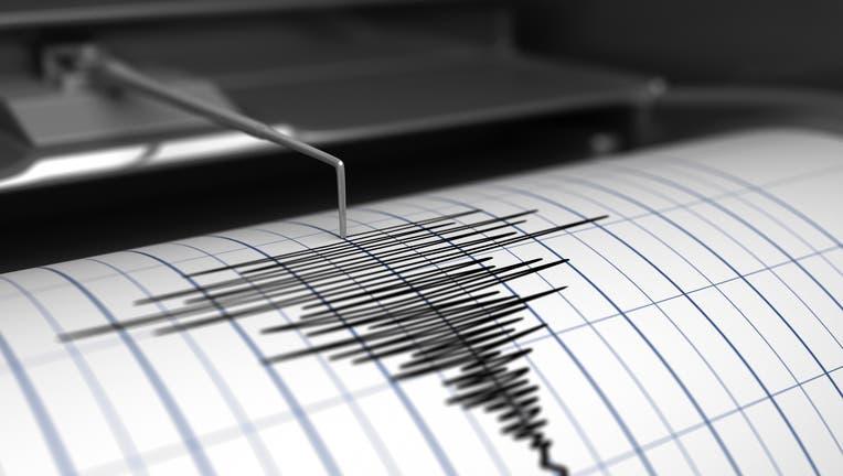 Seismograph and earthquake