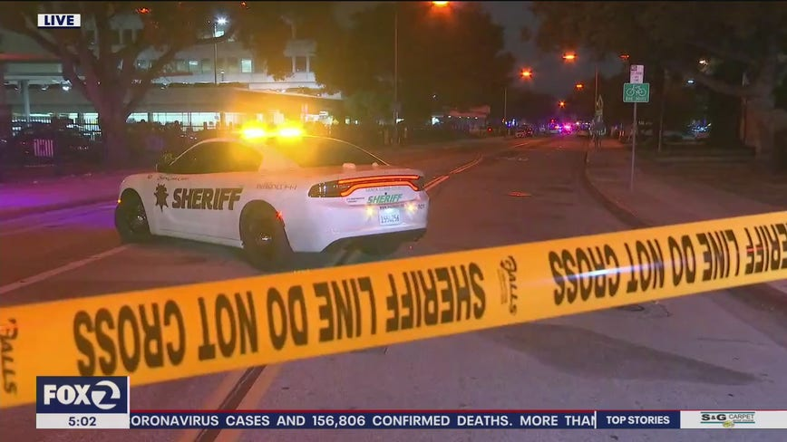 Suspect steals deputy's gun, fires it from patrol SUV at Santa Clara County Jail