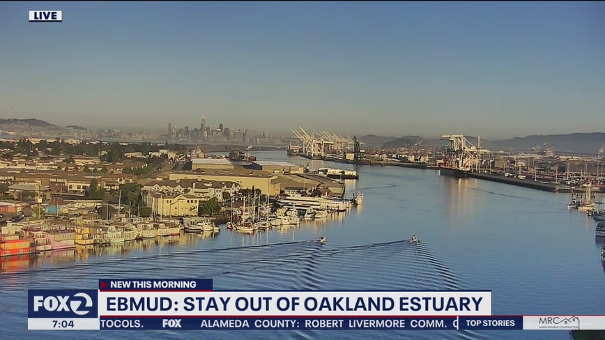 EBMUD: outage leads to waste water in Oakland Estuary