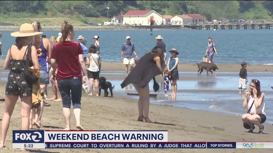 Bay Area heat wave will likely bring droves to beaches as pandemic persists